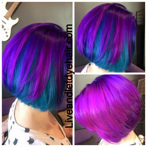 Bright Hair Colour Ideas For Work Live And Let Dye Hair