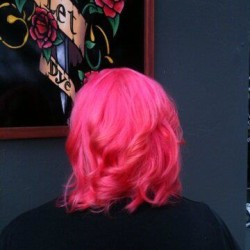 Bright Pink by Sarah at Live & Let Dye