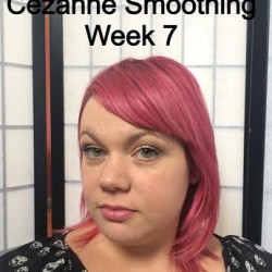 After 8 or 9 weeks with Cezanne smoothing treatment!